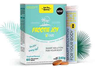 Frootie Joy - effet de bien-être sur tout le corps!